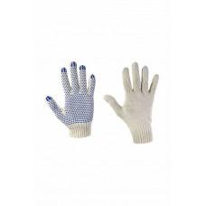 Перчатки с ПВХ 4-нитка